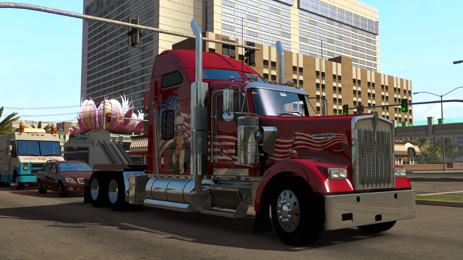 american truck simulator mods. Black Bedroom Furniture Sets. Home Design Ideas