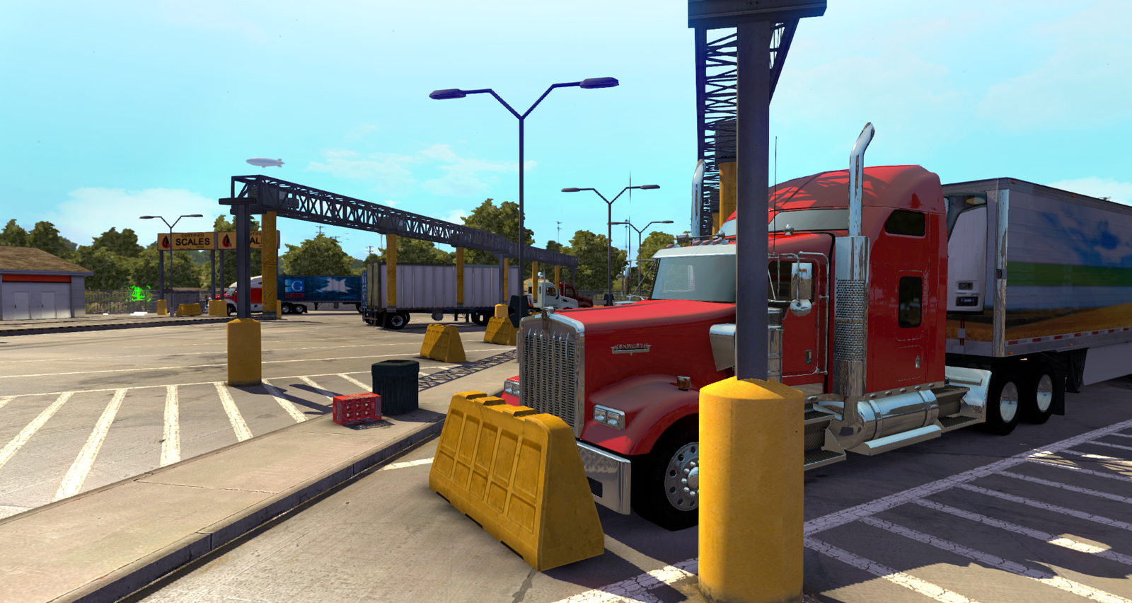 american truck simulator weight stations american truck. Black Bedroom Furniture Sets. Home Design Ideas