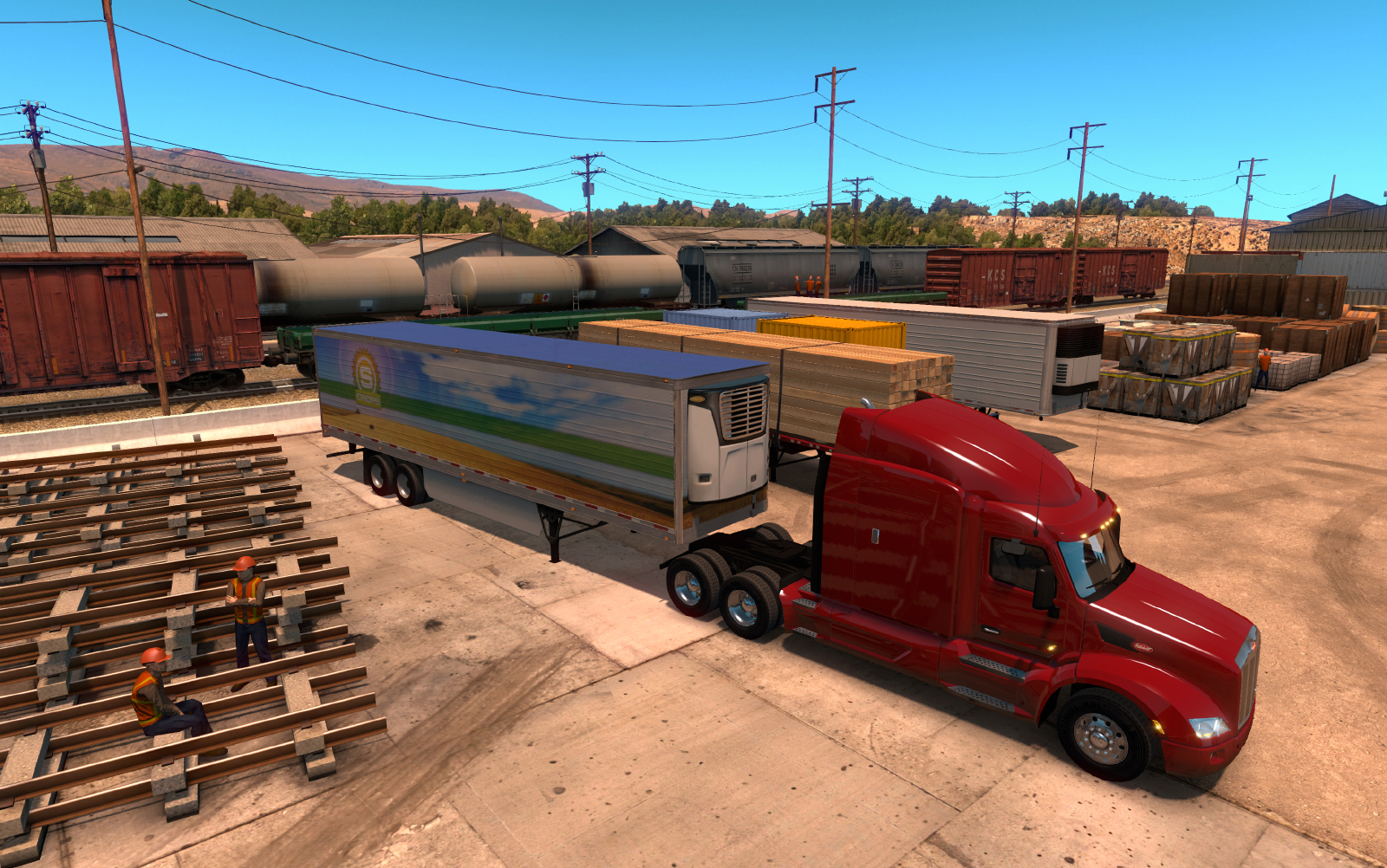 how to buy new garage in euro truck simulator
