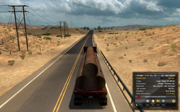 american-truck-simulator-gameplay