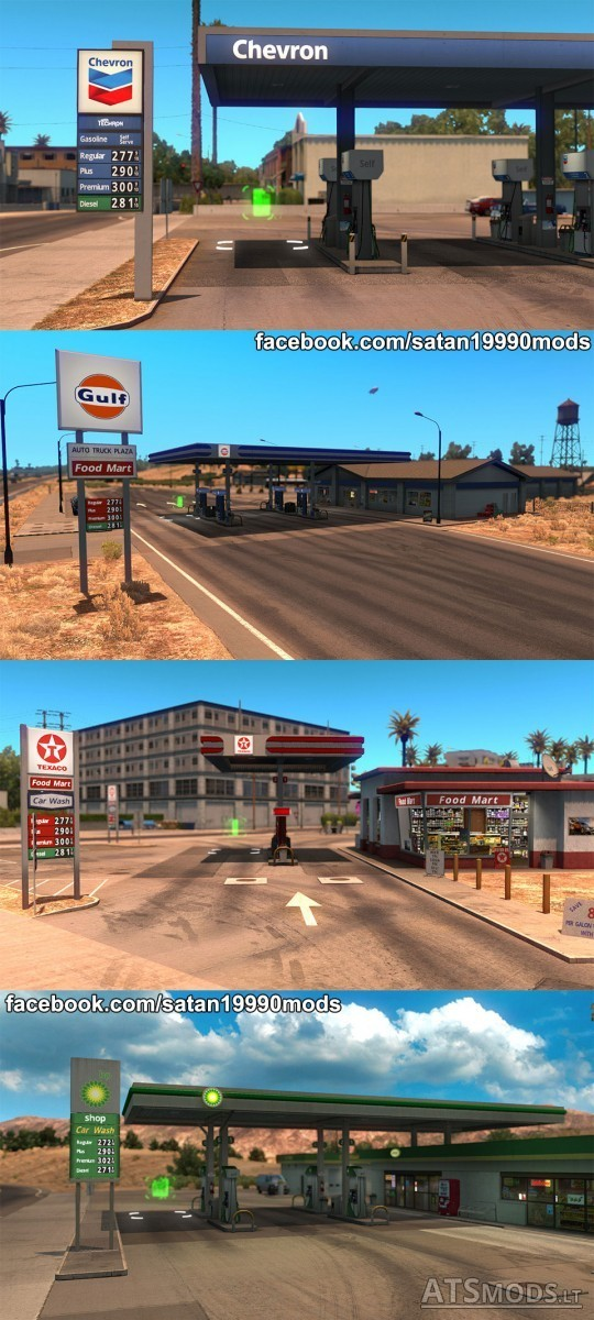 Gas-Stations