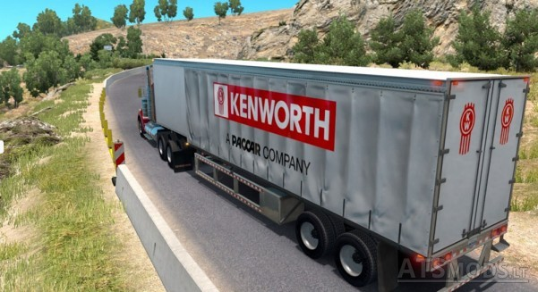 Kenworth-Curtain-Trailer