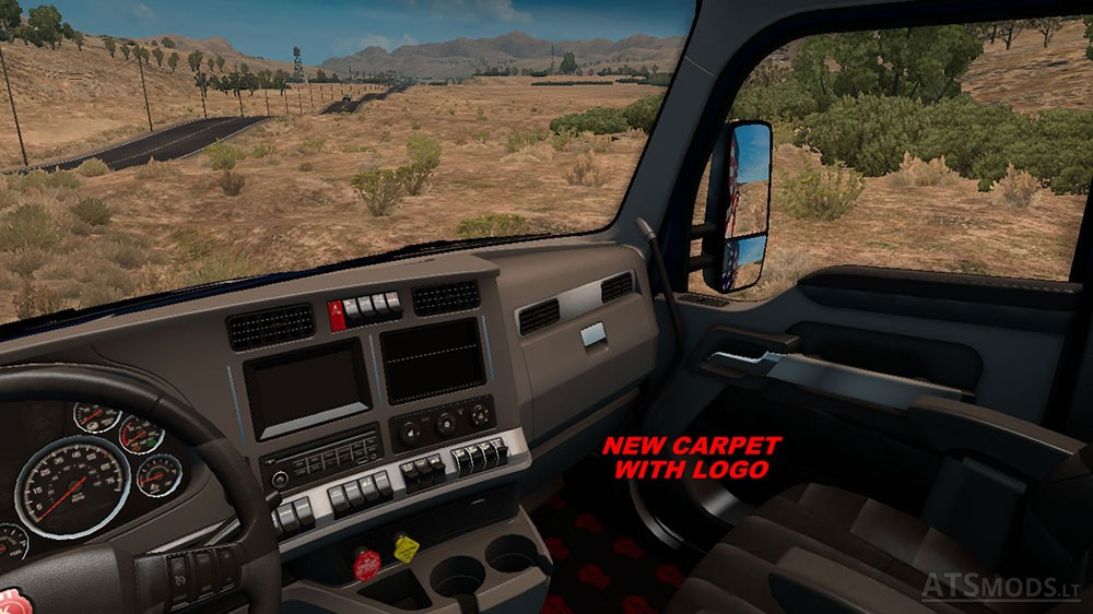 ... Kenworth T680 Interior 2 ...