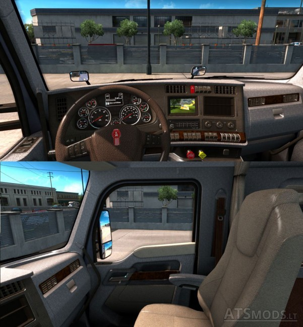 Kenworth-T680-Interior