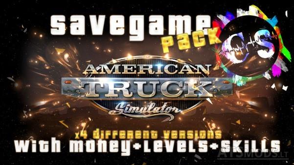 Savegame-Pack