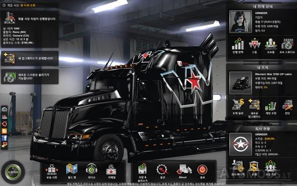 Wester-Star-5700-Optimus-Prime