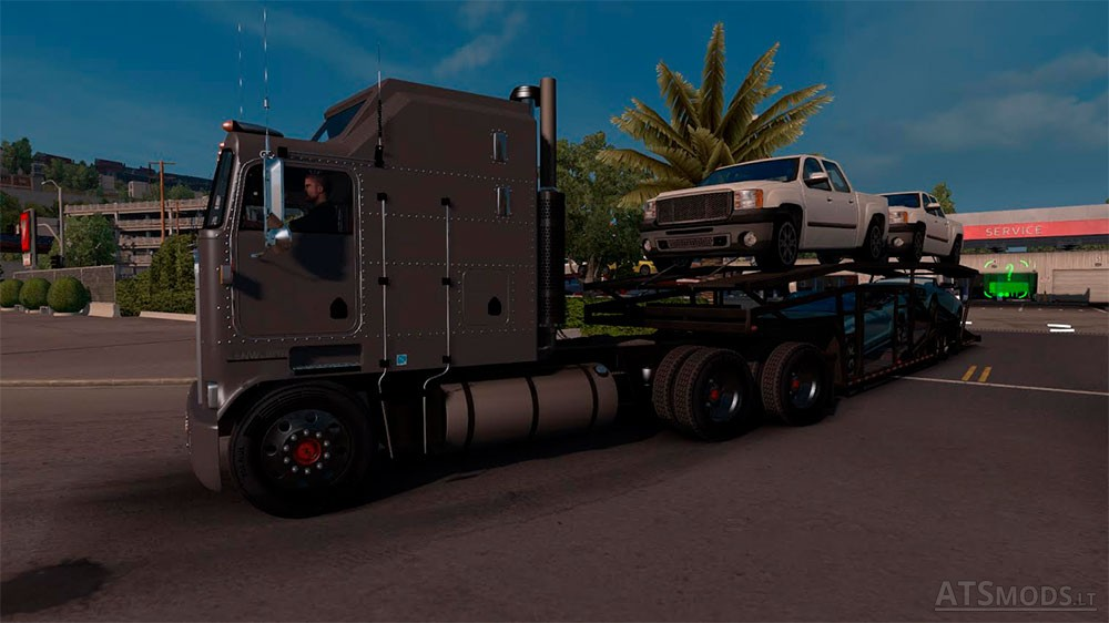 Kenworth K100 V3 edited by Solaris36 | American Truck Simulator mods