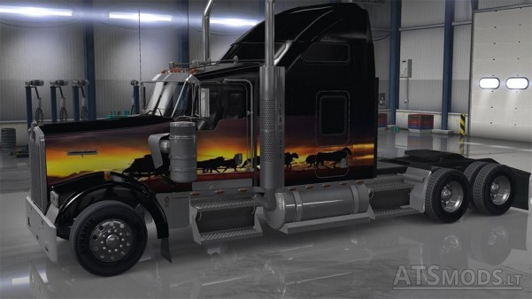 kenworth-sunset
