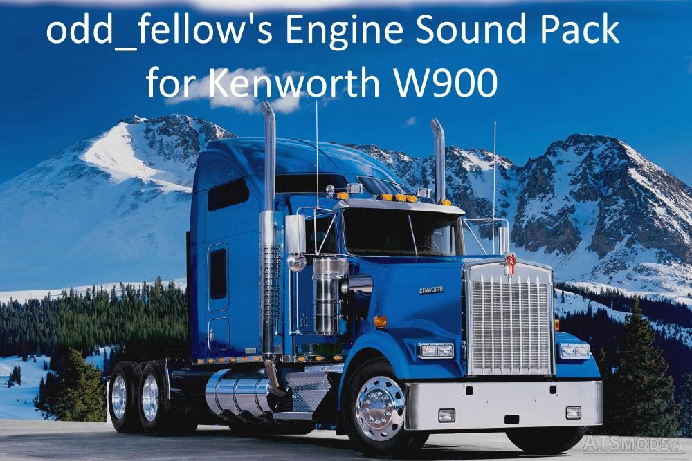 Oddfellows engine sound pack for kenworth w900 v 10 american oddfellows engine sound pack for kenworth w900 v 10 voltagebd Images