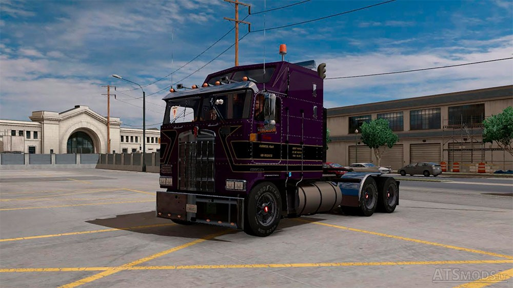 Kenworth K100 V2 edited by Solaris36 | American Truck Simulator mods