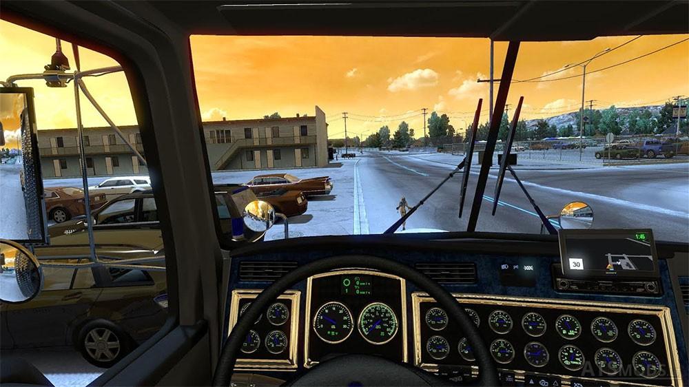 Kenworth T800 | American Truck Simulator mods