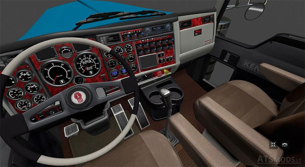 Kenworth W900B Long   American Truck Simulator mods
