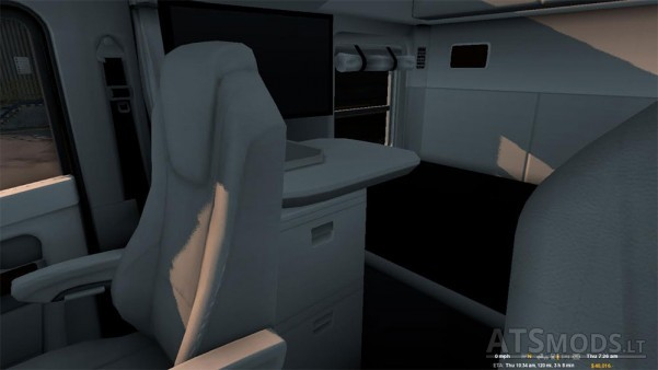 white-kenworth-interior