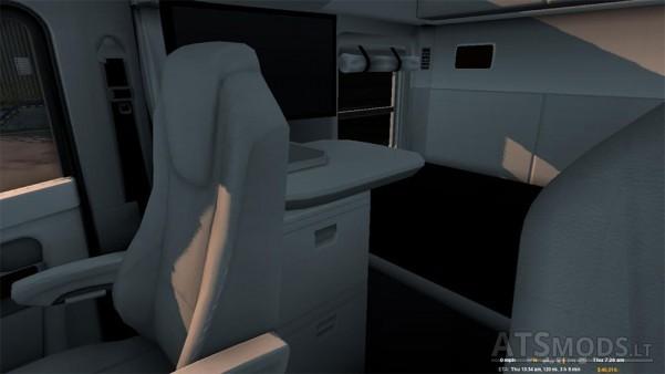 white-kenworth-interior