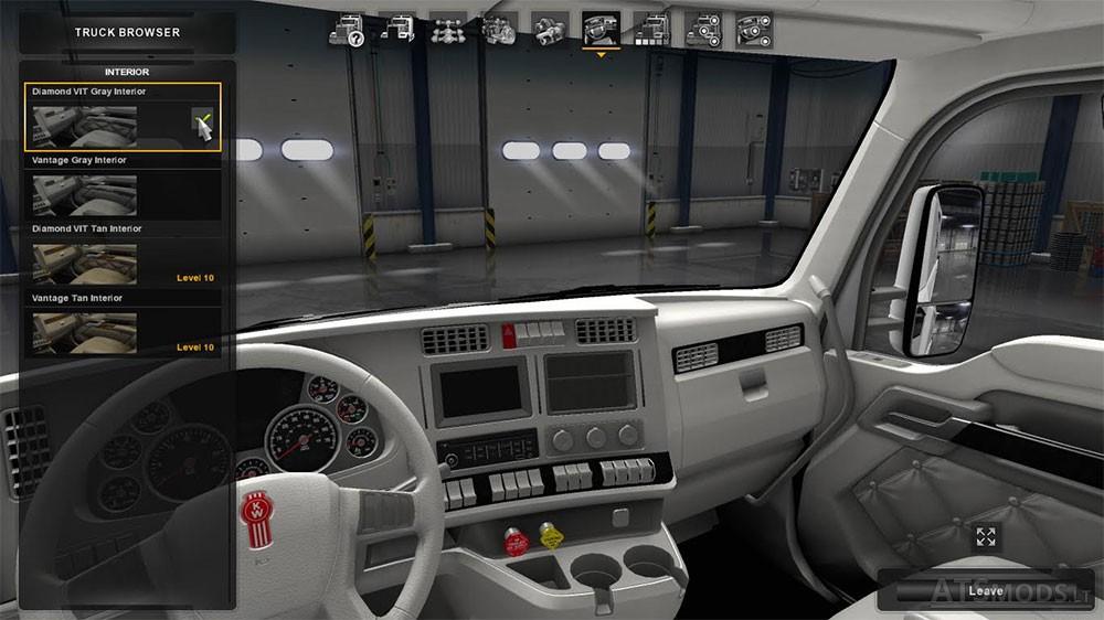 Kenworth T680 Wtiheout Interior American Truck Simulator Mods