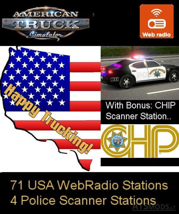 71-USA-Webradio-Stations-&-4-Police-Scanner-Stations