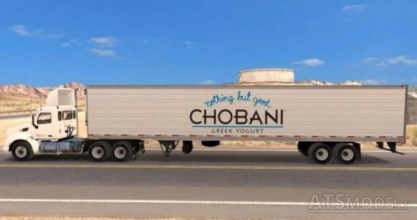 Chobani Yogurt Reefer