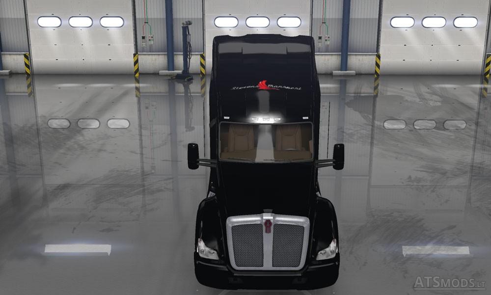 Kenworth T680 Stevens Transport Skin American Truck Simulator Mods