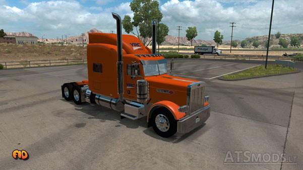 YRC Freight Skin | American Truck Simulator mods