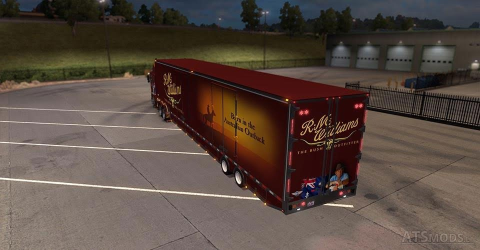 RD MOVING VAN By B4RT | American Truck Simulator mods