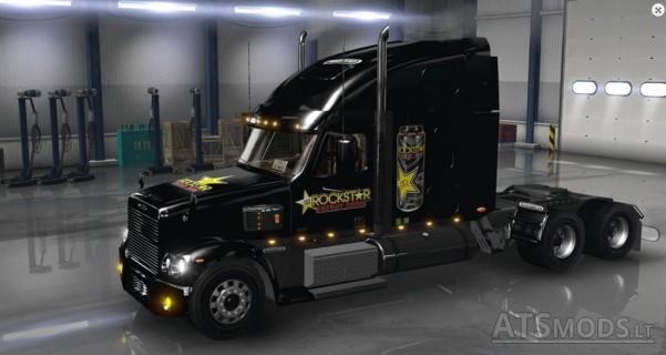 Freightliner-Coronado-Rockstar-Energy-Drink-Skin