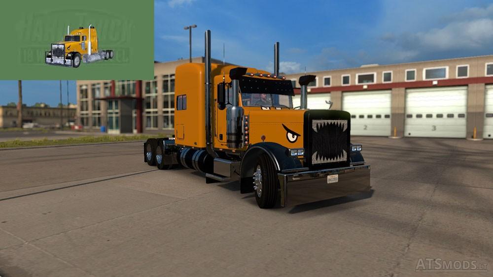 Peterbilt 389 Hard Truck 18 Wheels of Steel Skin | American