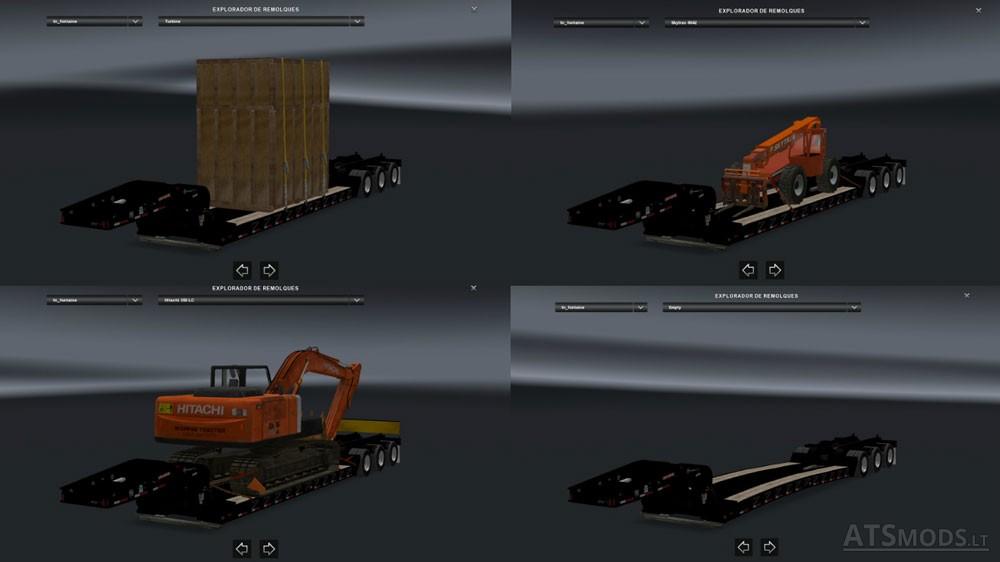 ATS Trailers Pack v 1 0 | American Truck Simulator mods