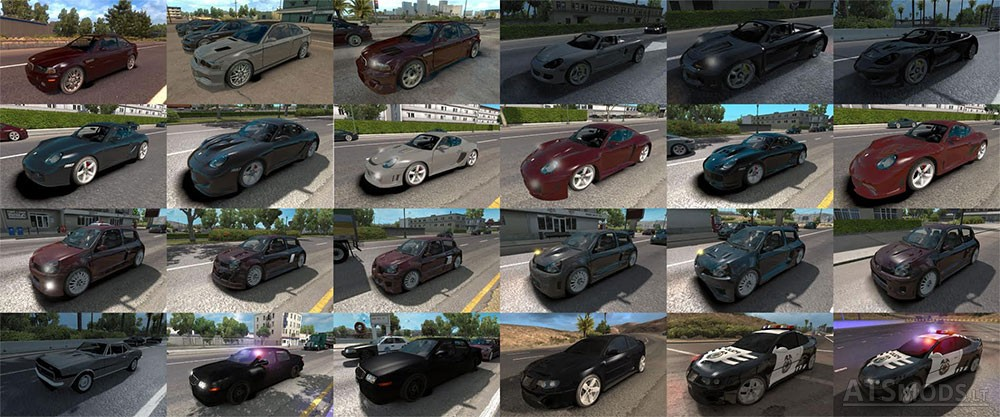 Nfs Most Wanted Traffic Pack American Truck Simulator Mods