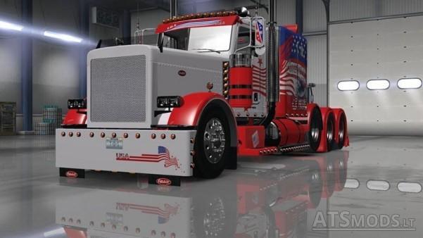 Ats T D S Peterbilt 389 Usa Skin American Truck