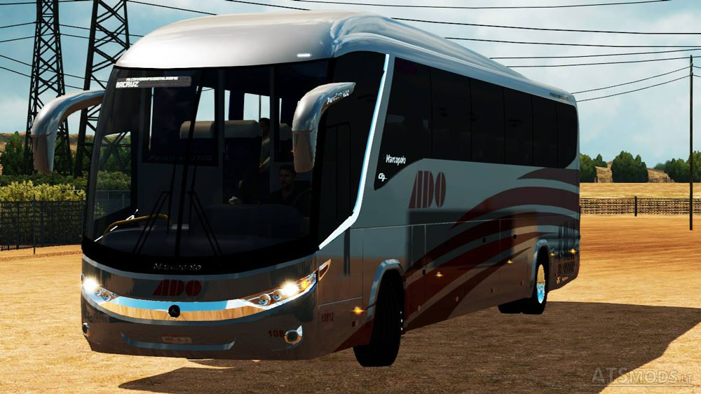 Bus Pack | American Truck Simulator mods
