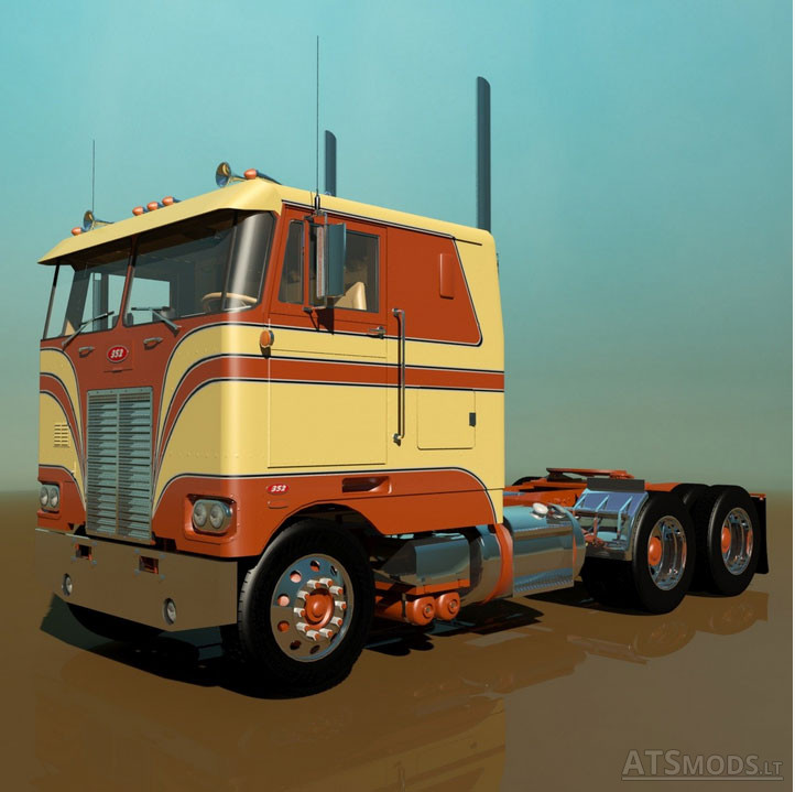 Petebilt 352 | American Truck Simulator mods