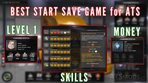 best-start-save-game