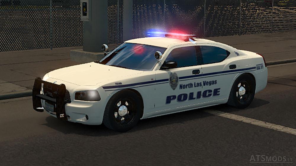 usa police traffic 1 4 x american truck simulator mods. Black Bedroom Furniture Sets. Home Design Ideas