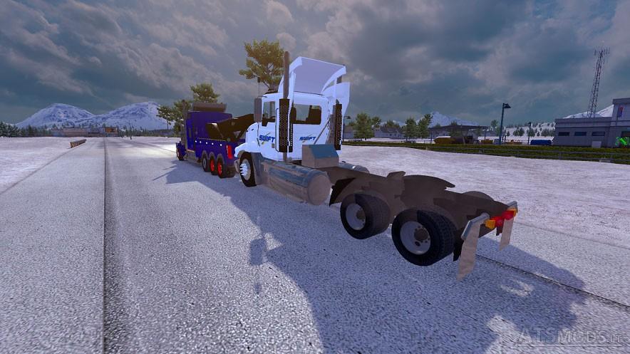 Kenworth W900 Wrecker | American Truck Simulator mods