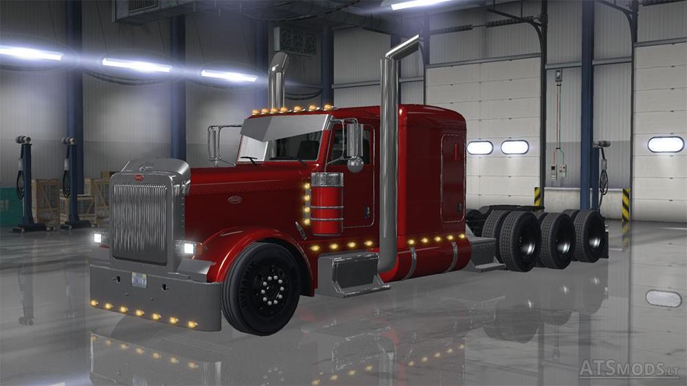 Peterbilt 389 Tri Drive By Bu5ted V1 5 American Truck Simulator Mods