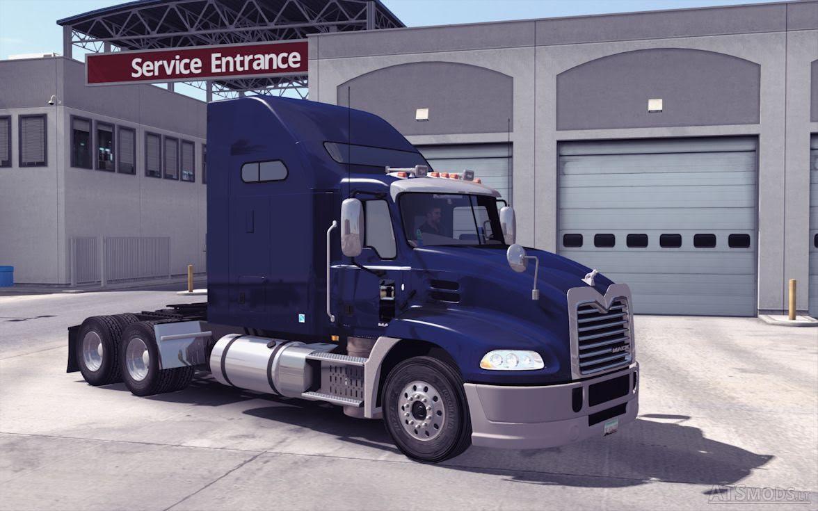 Mack Pinnacle American Truck Simulator Mods