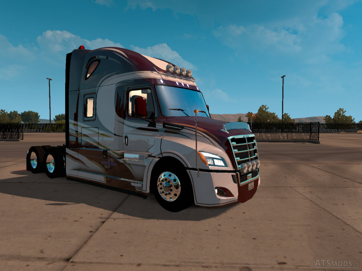 freightliner cascadia 2018 skin american truck simulator. Black Bedroom Furniture Sets. Home Design Ideas