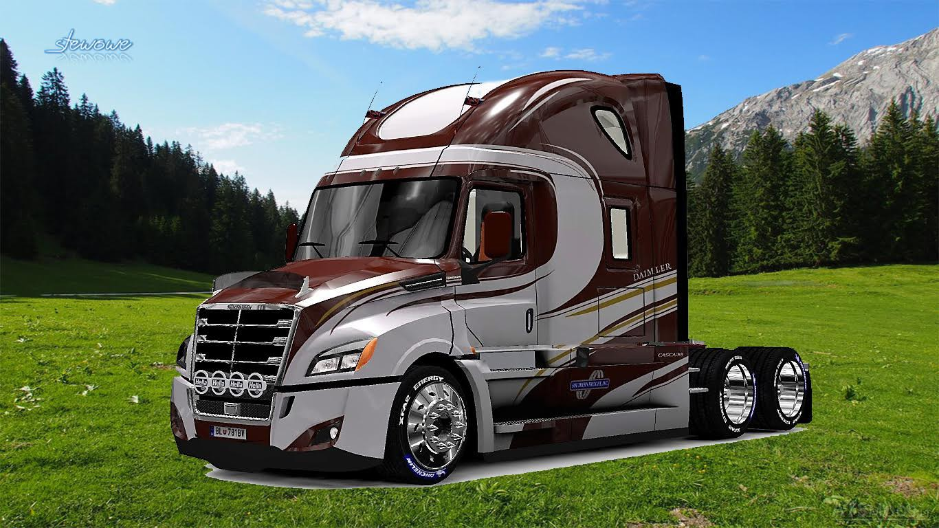 freightliner cascadia 2018 southern freight inc american. Black Bedroom Furniture Sets. Home Design Ideas