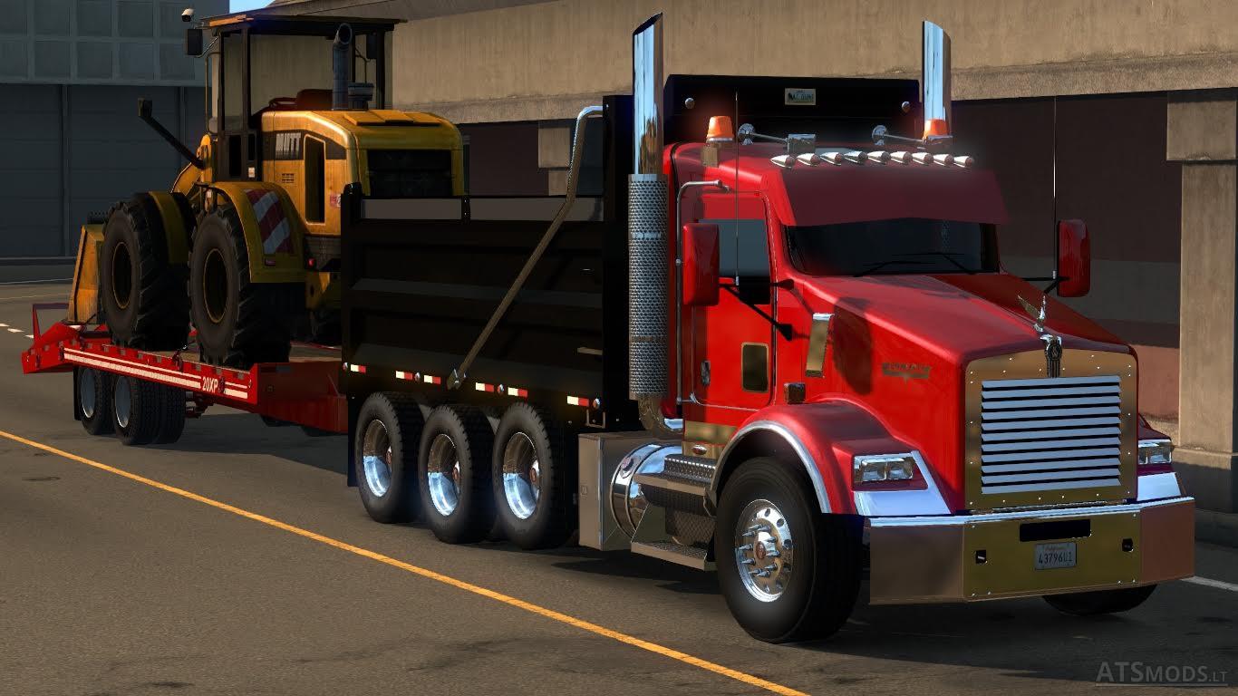 kenworth t800   American Truck Simulator mods