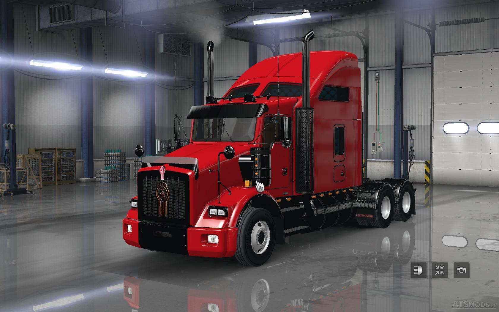 Trucks Mod Pack v 1.5 | American Truck Simulator mods