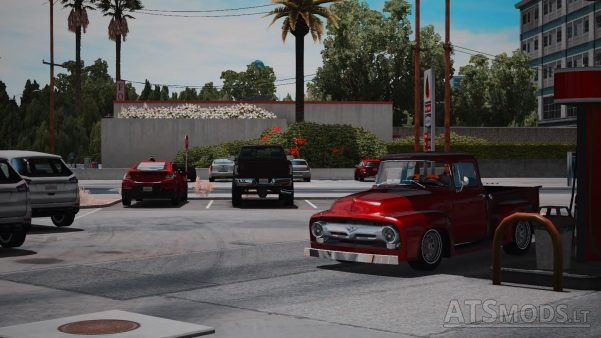 american truck simulator графика