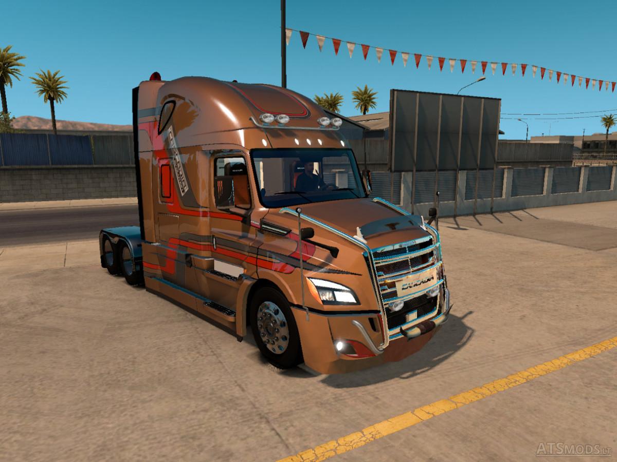 Freightliner Cascadia 2018 v.3.9.1 | American Truck Simulator mods