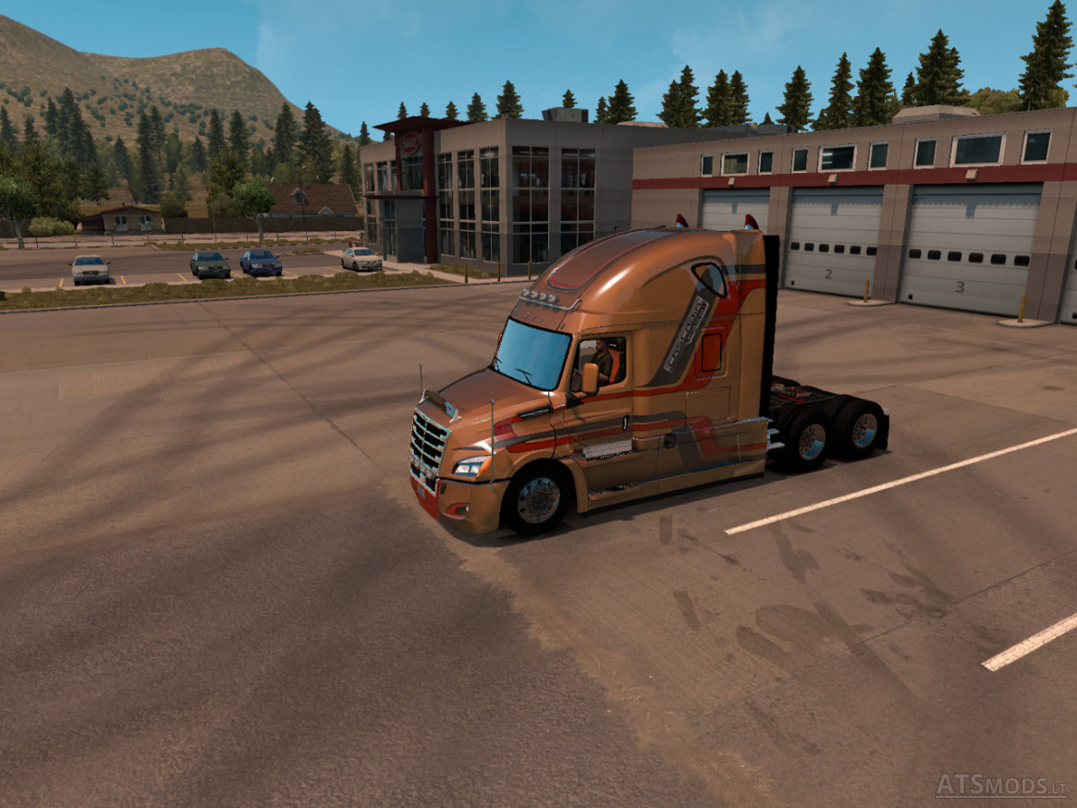 Freightliner Cascadia Evolution 2018 Ats Ets2 American Truck Simulator Mods