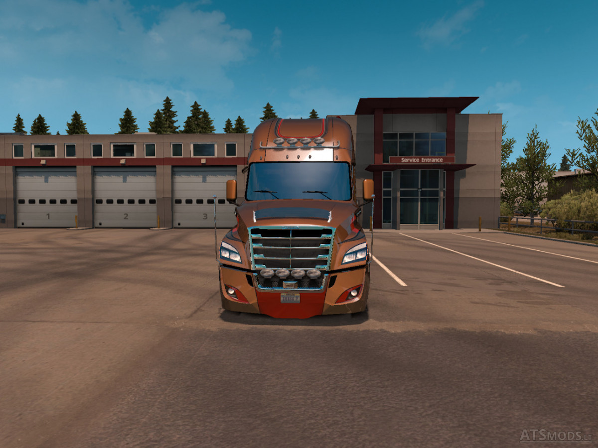 freightliner cascadia evolution 2018 ats ets2 american. Black Bedroom Furniture Sets. Home Design Ideas