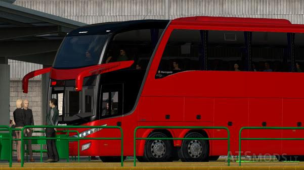 BUS STATION FOR (ATS_MAP) V 1 5 X | American Truck Simulator