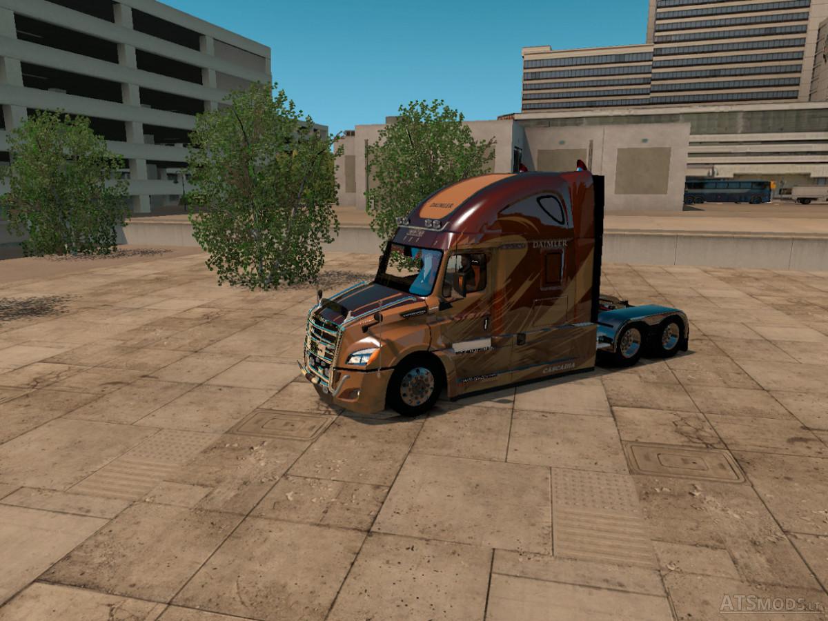 Freightliner Cascadia 2018 version3.9.3 | American Truck Simulator mods