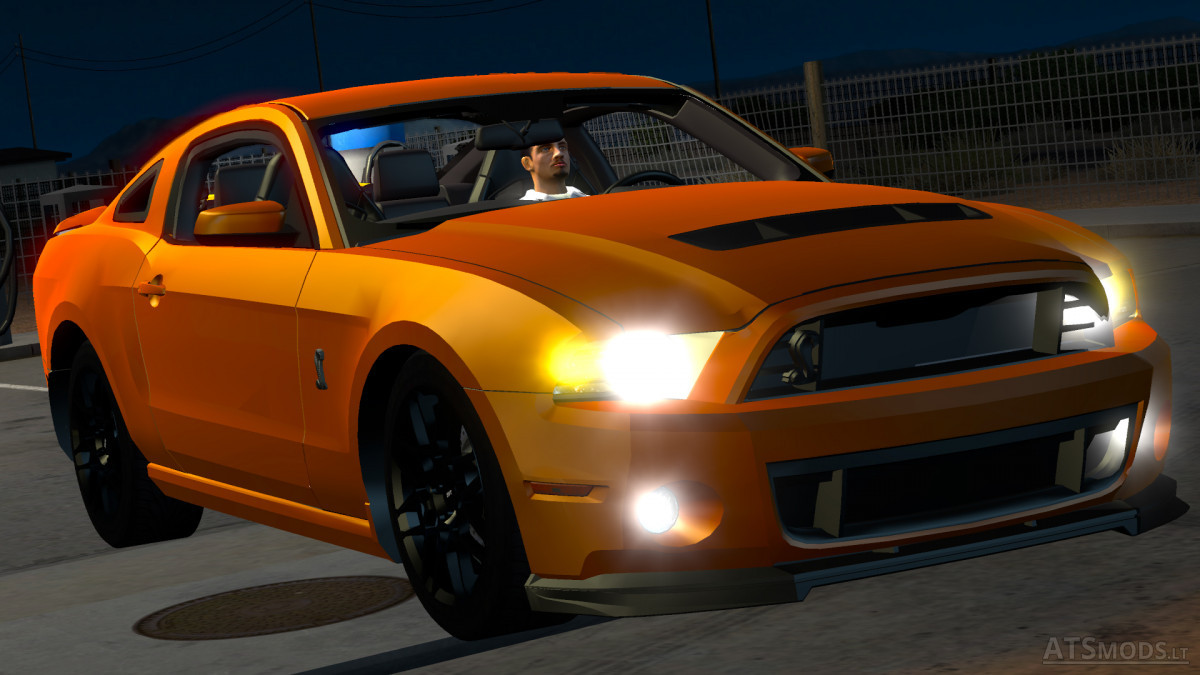 ford mustang shelby gt500 american truck simulator mods. Black Bedroom Furniture Sets. Home Design Ideas