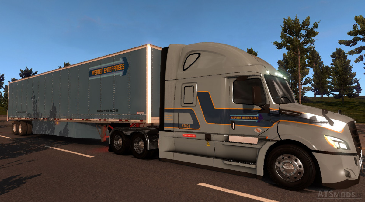 Werner Skin for Freightliner Cascadia 2018 ATS 1 6 x | American