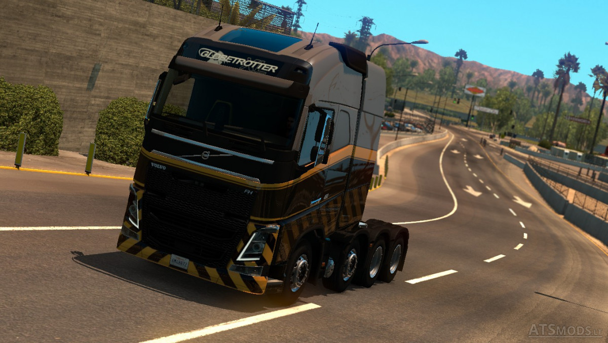 This mod adds volvo fh16 2012 2009 trucks into game