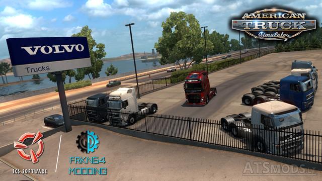 volvo   american truck simulator mods